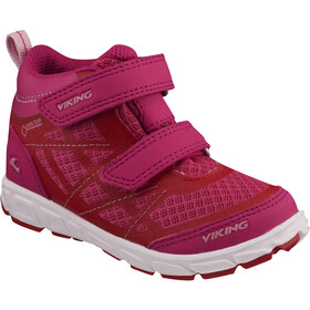 Viking Footwear Veme Mid GTX Shoes Kinder magenta/red